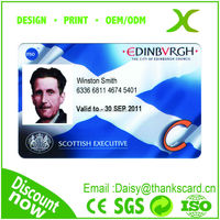 Provide Design~~!!! High Quality id card maker/ Office ID card manufacturer/ ID portrait cards