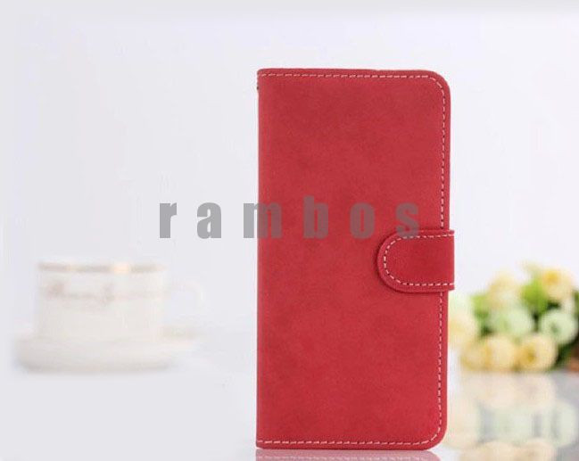 Wallet Stand Flip Leather Case Vintage Mobile Phone Bag Cover with Card Slot for HTC One M8 M7 Desire 816 500 601 610 300 310