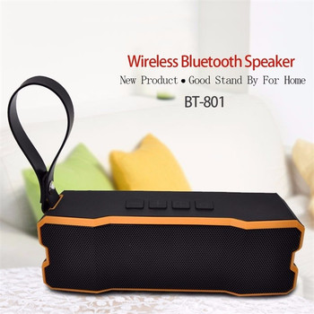 Portable Wireless Bluetooth 4.1 Speaker System BT 801 Stereo Subwoofer Mic FM Radio