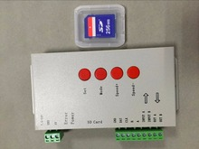 T-1000S,SD card LED card pixel controller;off-line;SPI signal output;with one output port output;2048 pixels controlled