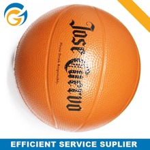 Customized LOGO Basketball PU foam Stress Ball