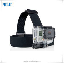 Poplar gopros headstrap for SJ4000 xiaomi yi Go Pros Head strap Mount action camera accessories