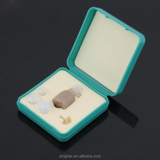 high level compact mini size hearing aid voice amplifier device F883
