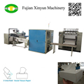 V Fold Box Drawing Facial Tissue Paper Production Line