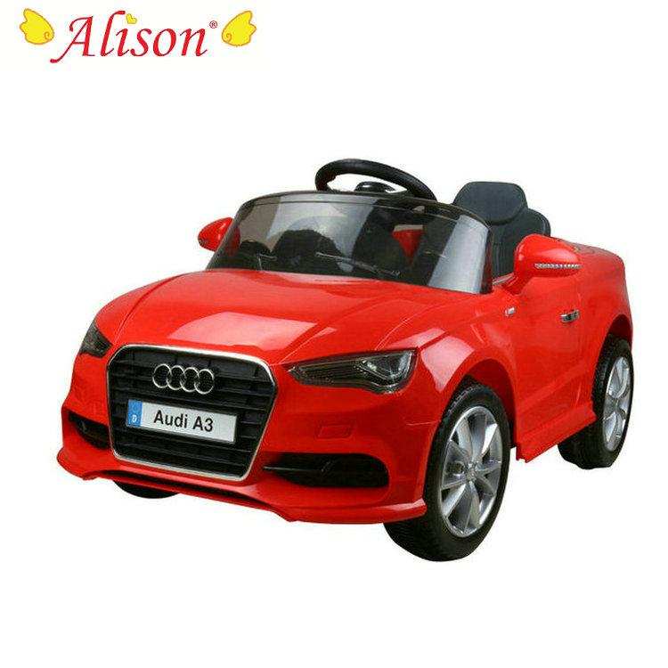 Hot Sale Licensed Audi A3 Children Electric Car Toys Car for Kids Baby Ride On Car