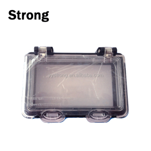 OEM clear polycarbonate moulds parts plastic PC injection moldings part