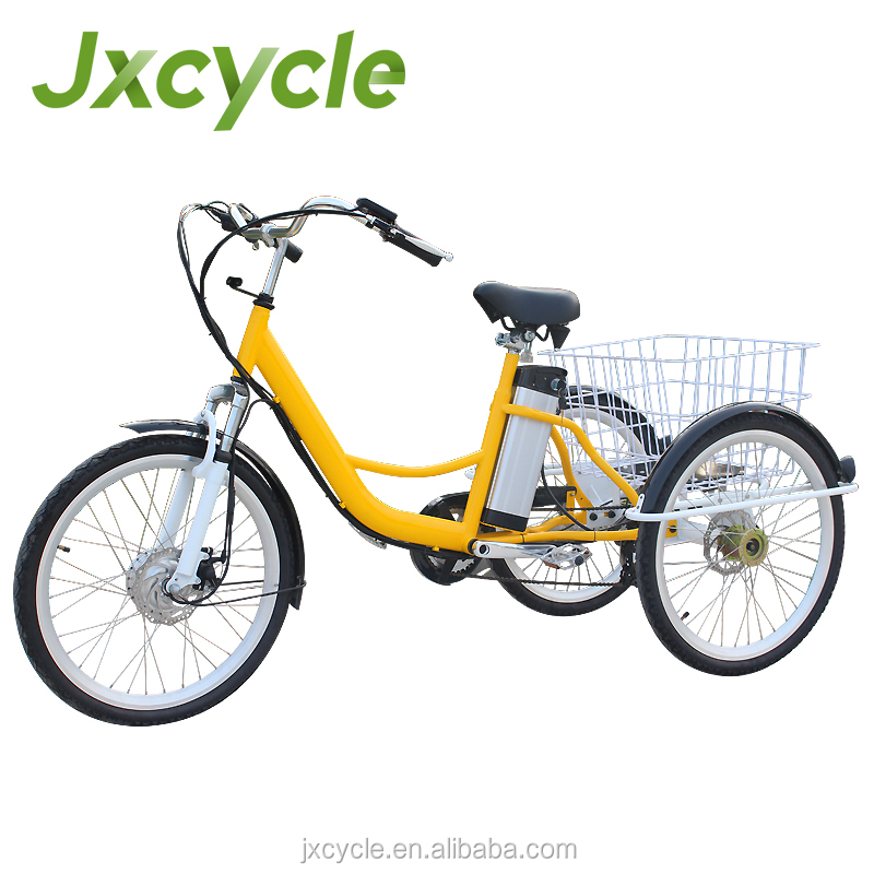 three wheel electric tricycle 24 inch