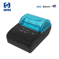Pos 58mm Rechargeable Thermal Printer With
