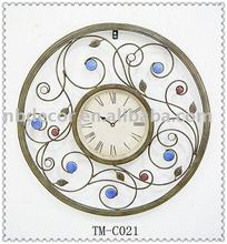 Metal wall clock/Iron clock