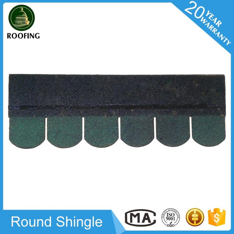 Cheap Round waterproofing roofing shingles,roof tile with high quality