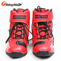 China Cheap China Red 40 45 Short Casual Riding Cheap Ladies Leather Motorbike Shoes