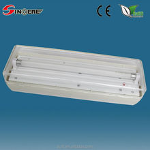 ABS PC diffuser wall mounted Non-maintained Bulkhead emergency light