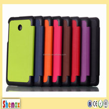 New Arrival Magnetic Smart Cover Case For asus fonepad 7 fe170cg Tablet Stand Holder