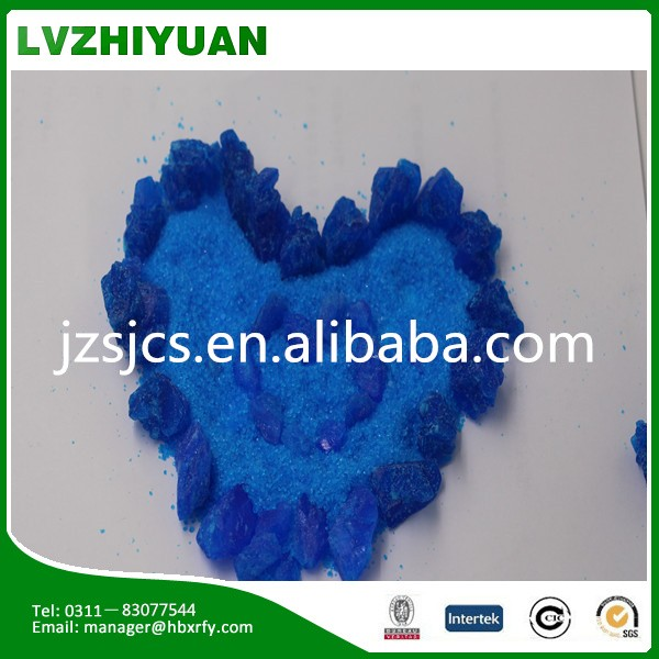 copper sulphate for mine resources use
