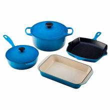 Wholesale Enamel coated cast iron coloured cookware