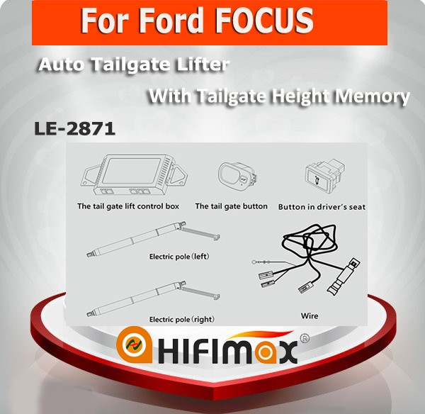 Electric Automatic Intelligent Tailgate lift tail gate special for Ford FOCUS power tailgate