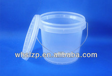 3.8 L transparent plastic container,1 gallon transparent plastic container,transparent plastic container