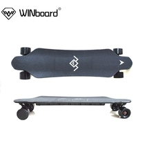 WINboard GT-M3 36V 3000w dual hub motor PU replaceable 40kmh speed electric longboard