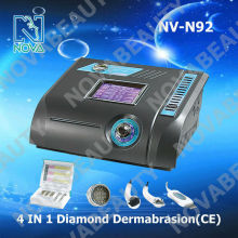 NV-N92 4 in 1 Portable Diamond dermabrasion instrument/micro crystal diamond dermabrasion machine/diamond peeling machine home