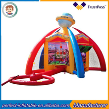 Customized inflatable sports games toys inflatable football pitch for competition