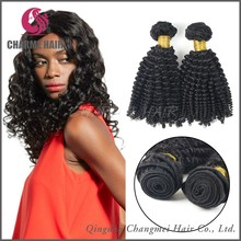 Hot China products wholesale brazilian weave bundles curly hair weave