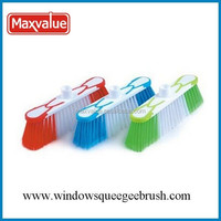 hot sell rubber plate brush house cleaning broom