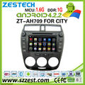 ZESTECH 4.2.2 Pure Android car dvd for Honda City DVD GPS With Capacitive Touch Screen DDR3 8GB Dual Core A9 WIFI 3G