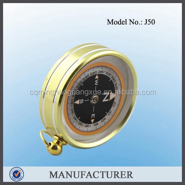 Minghao oem brass direction finder mini compass manufacturer in China