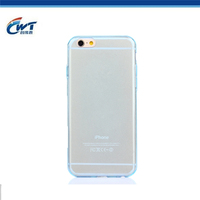 For iPhone 6 tpu bumper 0.3mm super thin multi color tpu back covers for iPhone 6