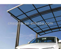 Customized outdoor metal shelter canopy carports for sale