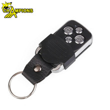 Electric 4-Channel Cloning 433MHz Garage Door Remote Control Transmitter Duplicator Rolling Code Face to Face Key Fob AG075B
