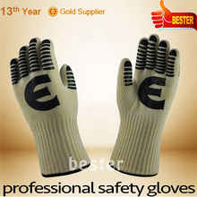 Made in china Best sell extreme heat resistant bbq glove