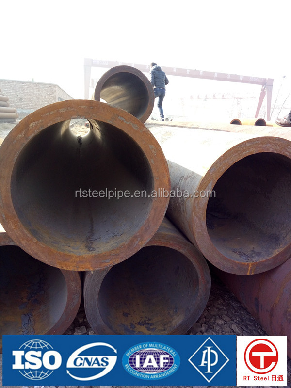 Large diameter seamless steel pipe for gas cylinder buy