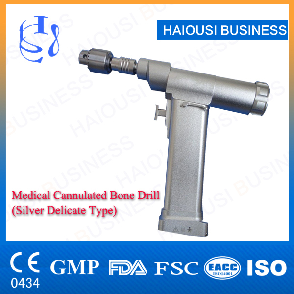 Surgical instrument High standard delicate, silver type cannulated orthopedic drill