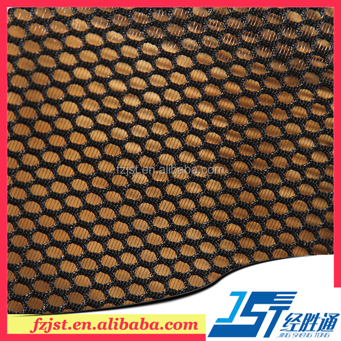 Olympic hexagonal mesh fabric net polyester mesh fabric wholesale