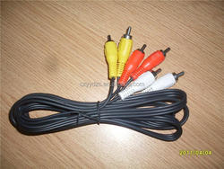 Yiyue YY- audio rca cable 3 rca to rca cable for tv