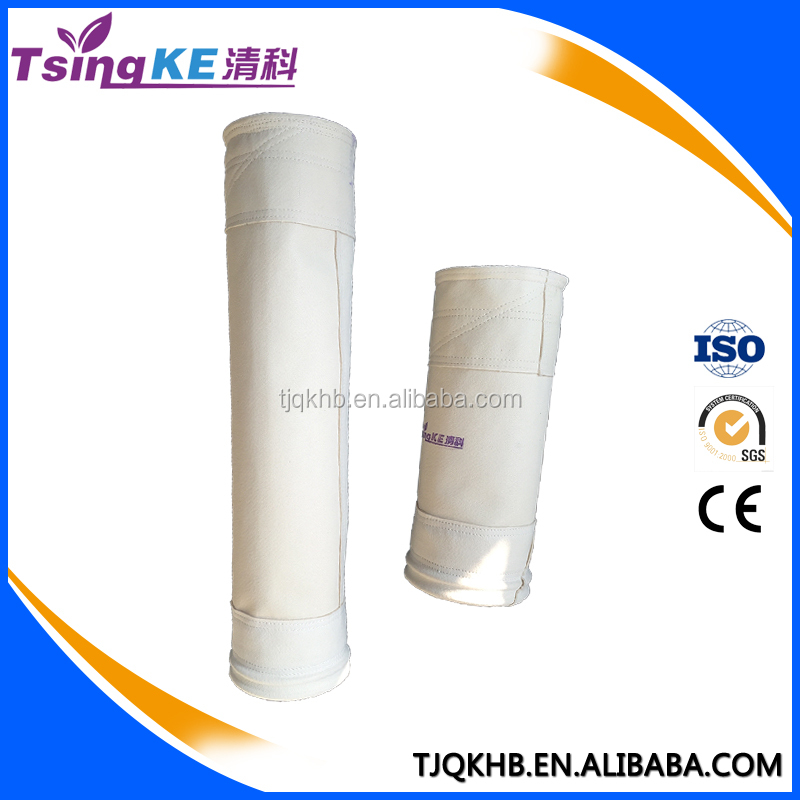 TsingKe Chemical Resistant PPS Filter Bag Power Plant Dust Filtration