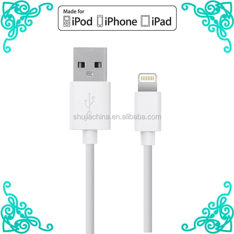 For apple iphone 6 MFi certified manufacturers for mfi iphone charger cable mfi cable c48 chip connector