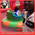 inflatable water bump boat for water park