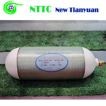 Type 2 Fiber Glass Wrapped CNG Gas Cylinder for Vehicles