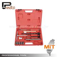 Taiwan Auto Repair Tools Car Repair Tools 14pcs Diesel Injector Seat Cutter Kit