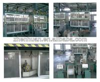 Vertical film taping and sintering machine