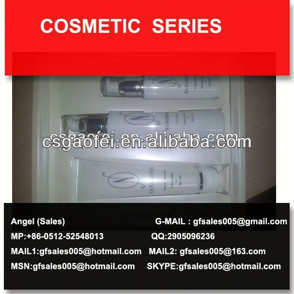 2013 best sell cosmetic surplus cosmetics for beauty cosmetic using
