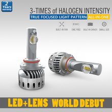 Reliable and Good hb3 led headlight bulbs review with all-in-one design