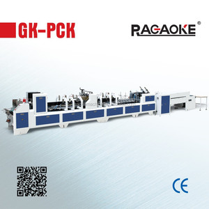 GK-780PCK Best Manufacturer Packaging machinery For Corrugated Carton Boxes Gluing