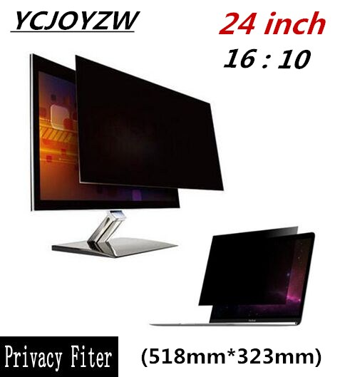 16:10 22 inch Privacy Filter Screen Protector Film F  Widescreen Desktop Monitor