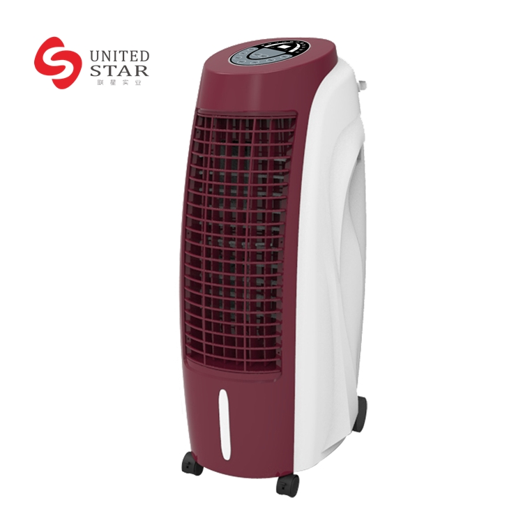 Ultrastrong wind ABS body industrial Portable Humidified Water Evaporative Air Cooler fan price