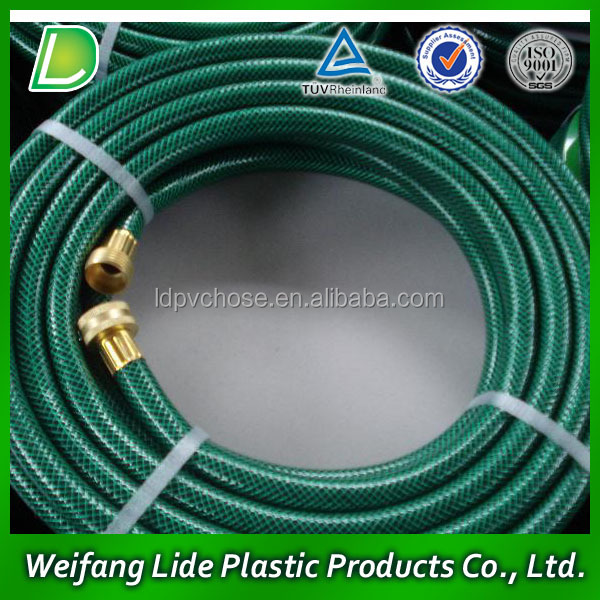 PVC Plastic Flexible Extra Silicon Knitted Hose for Garden Water Irrigation Pipe Hose