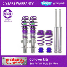 coilover shock absorber for VW Polo 9N /Fox