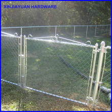 welded metal chain link fence galvanized for garden/farm field/playground